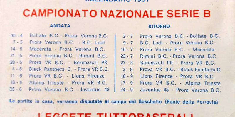 Prora calendario 1967