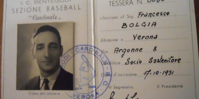 Tessera Bentegodi Cardinals 2