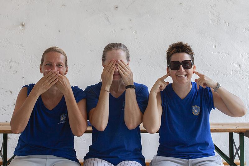 Diana, Elisa e Giuliana